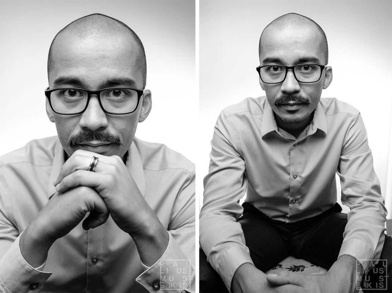 professional business headshot and portrait of a freelance photographer