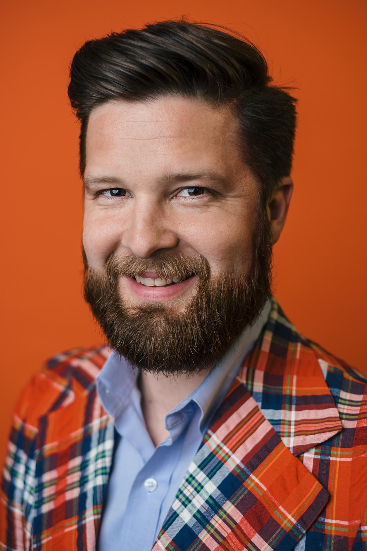 business portrait of architect Doug Pahl