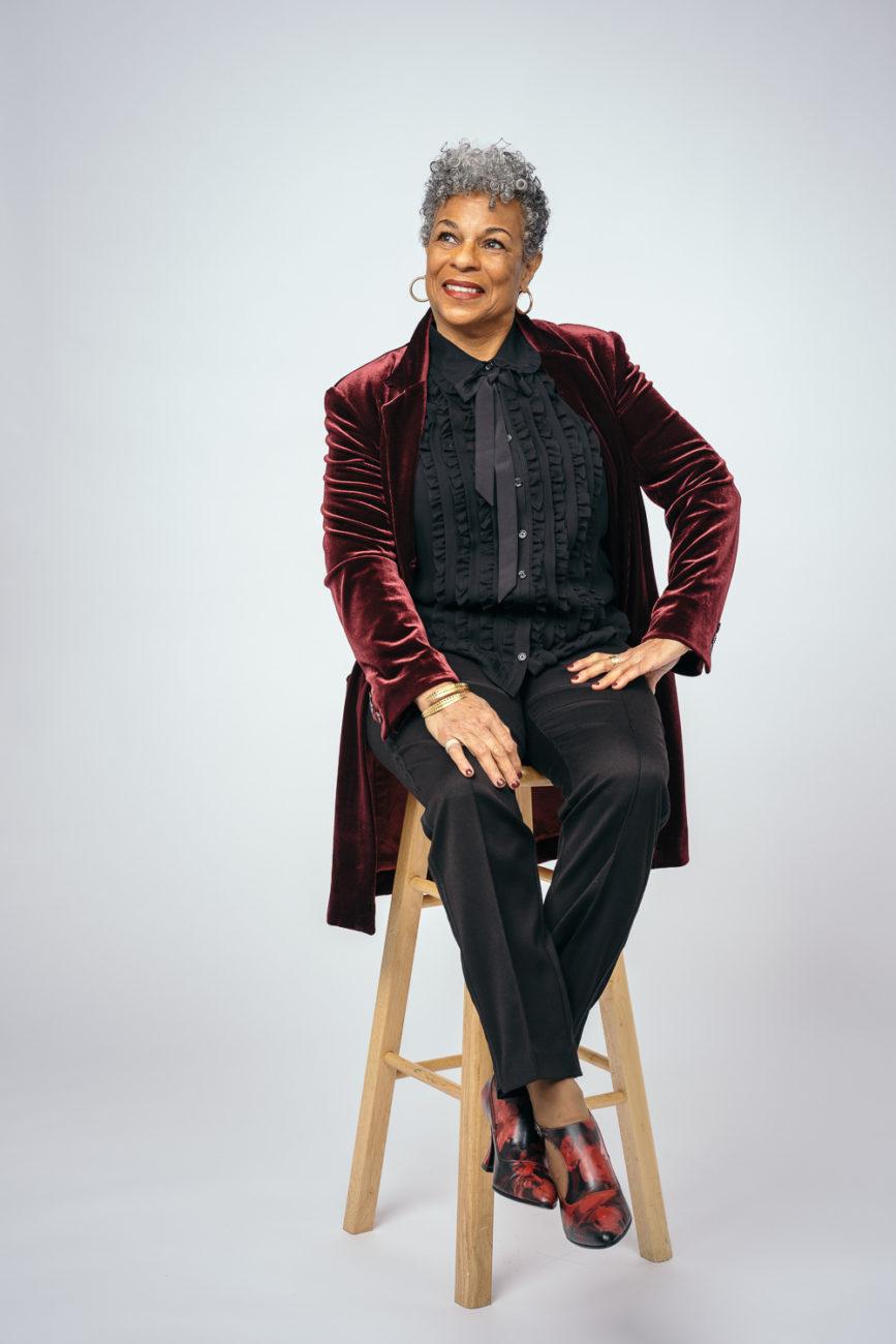 Business portrait of theater professor
