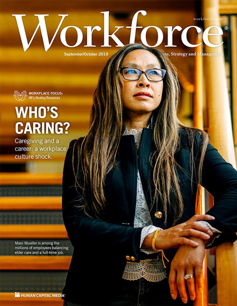 Dramatic portrait of Madison Promega employee