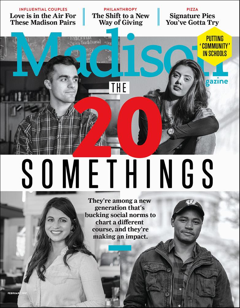 Portraits of Madison Wisconsin entrepreneurs for Madison Magazine