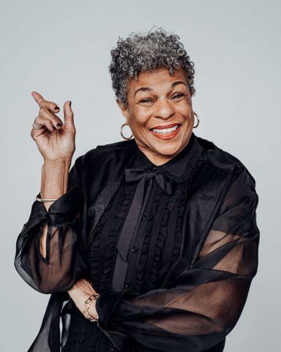 business portrait of UW theater professor Sandra Adell